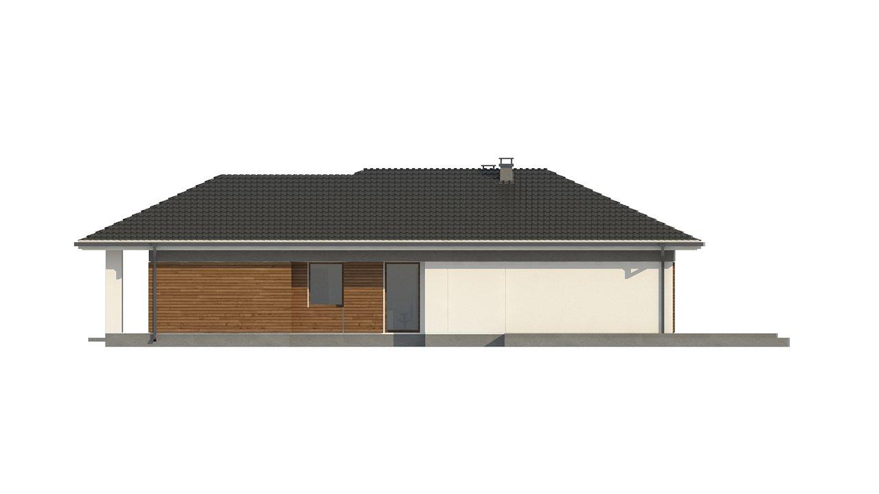Проект уютного одноэтажного дома с 3 спальнями 10