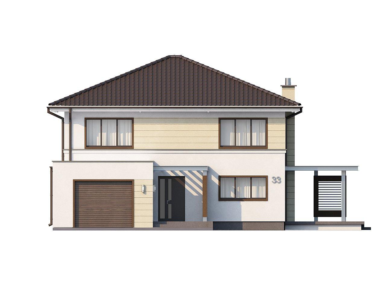 Комфортный двухэтажный дом со вторым светом над гостиной. - фото 3