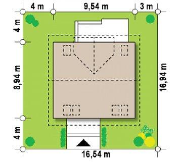 Современная версия проекта Z65 c изменениями в планировке. план помещений 1