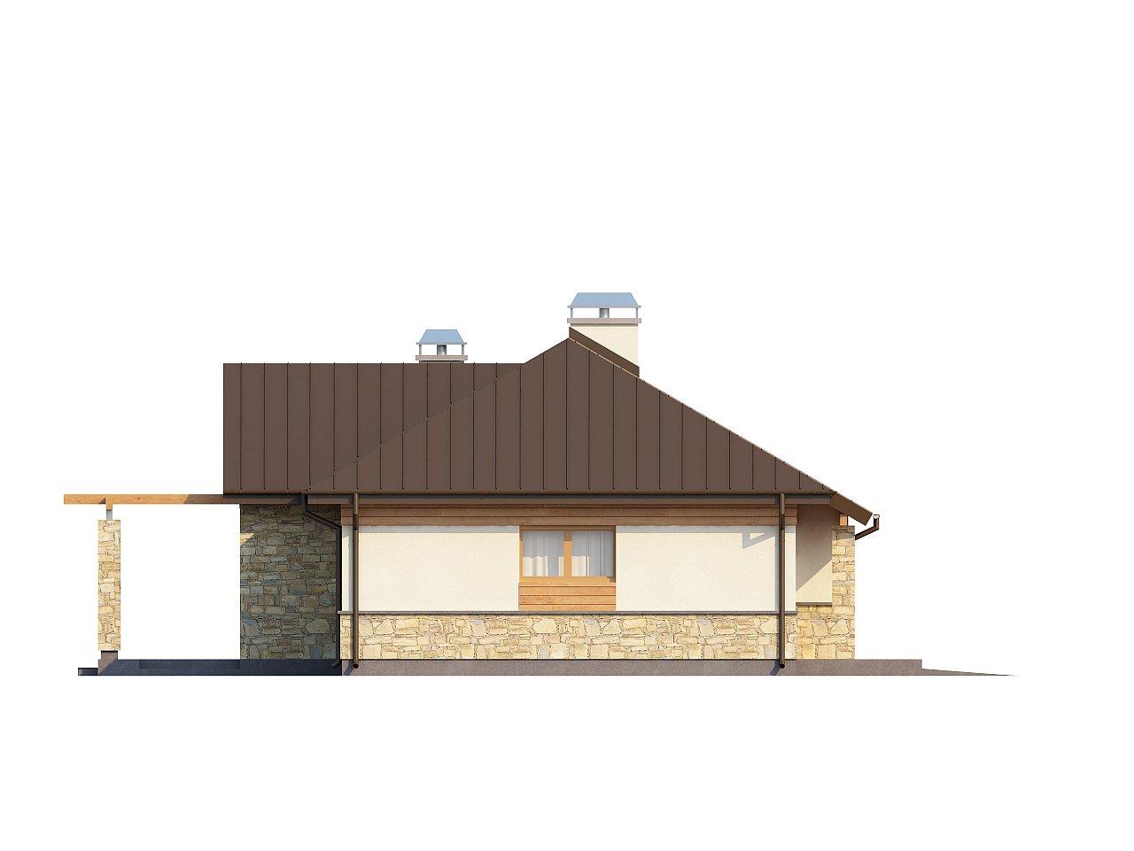 Функциональный компактный дом интересного дизайна. - фото 12
