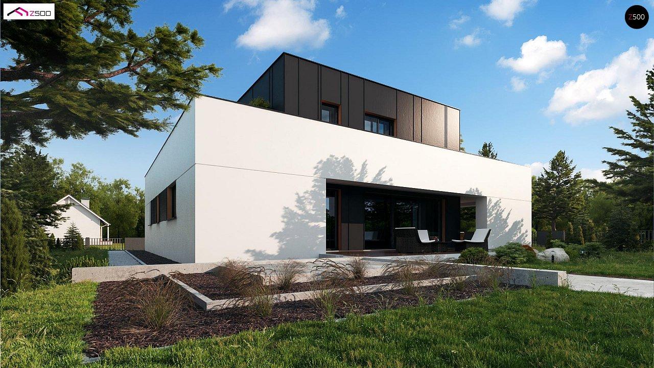 Дом в современном стиле с подвалом 1