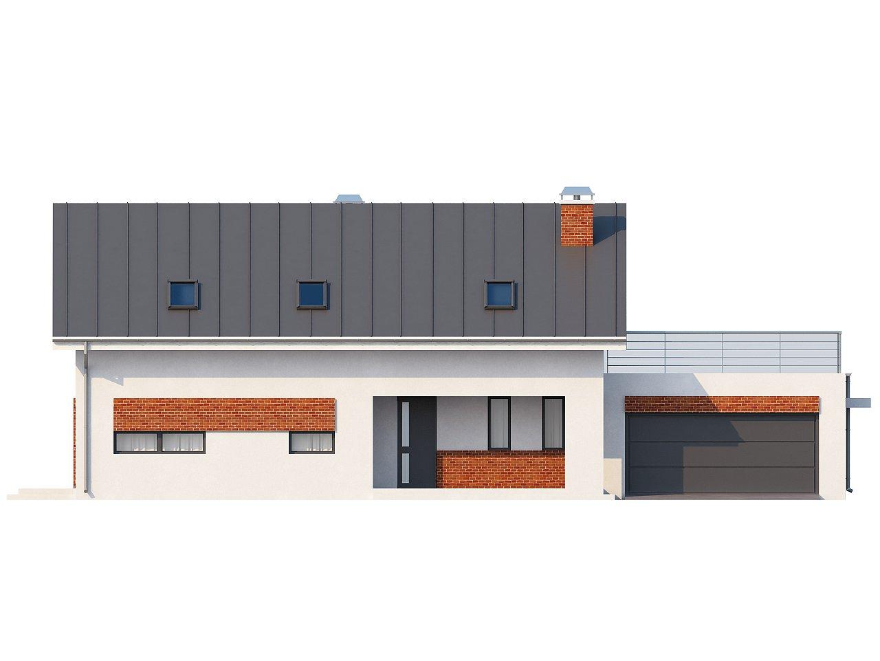 Просторный и комфортный дом со встроенным гаражом и двумя спальнями на первом этаже. 4