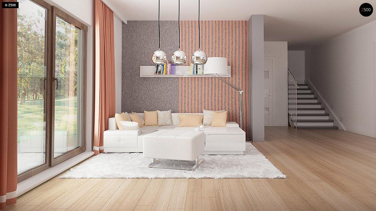 Стильный современный дом с пятью спальнями и гаражом. 7