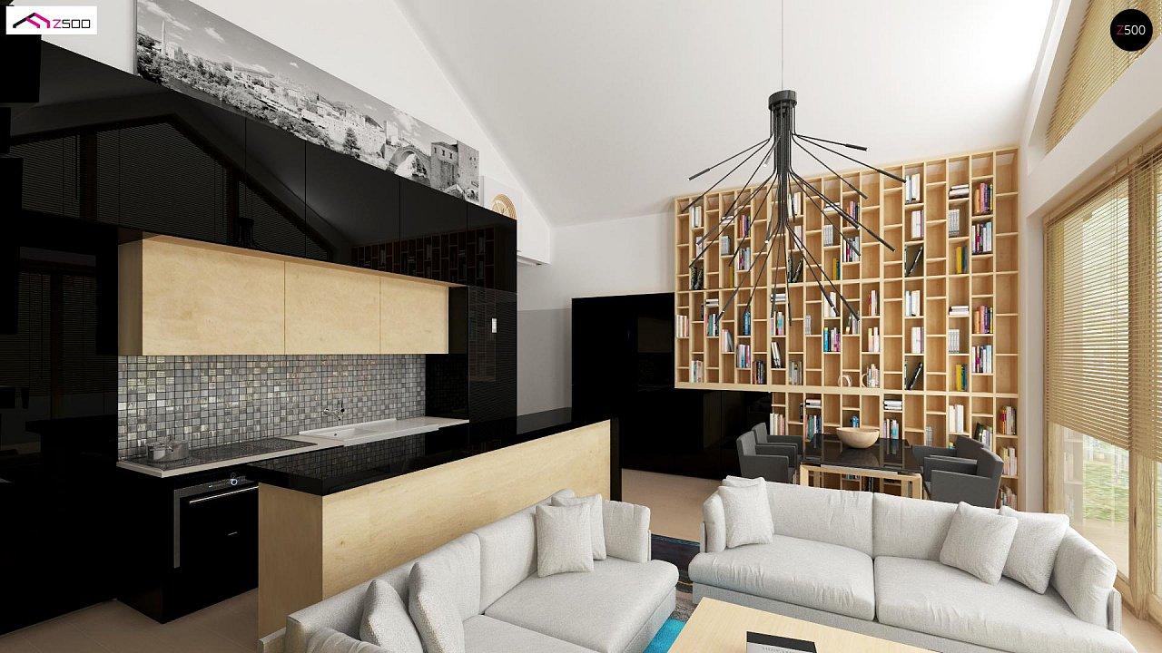Функциональный компактный дом интересного дизайна. - фото 4