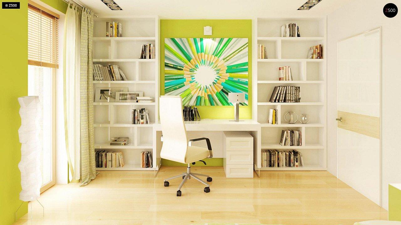 Прекрасное сочетание строгих минималистичных форм и уютного практичного интерьера. 14