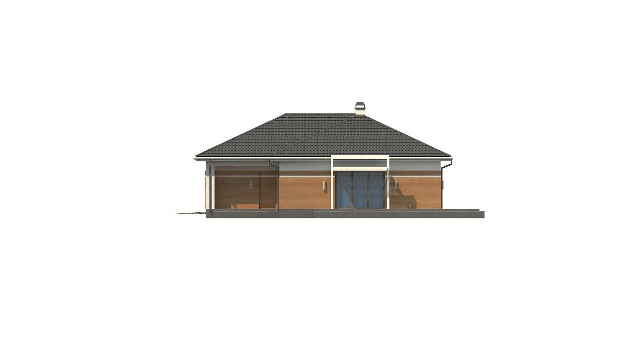 Классический вариант реализации фасадов на основе проекта Z208. - фото 11