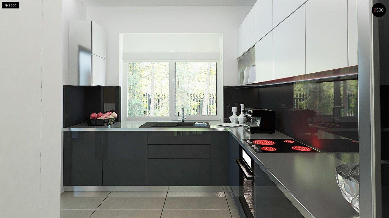 Комфортный дом привлекательного дизайна с дополнительной комнатой над гаражом. 8