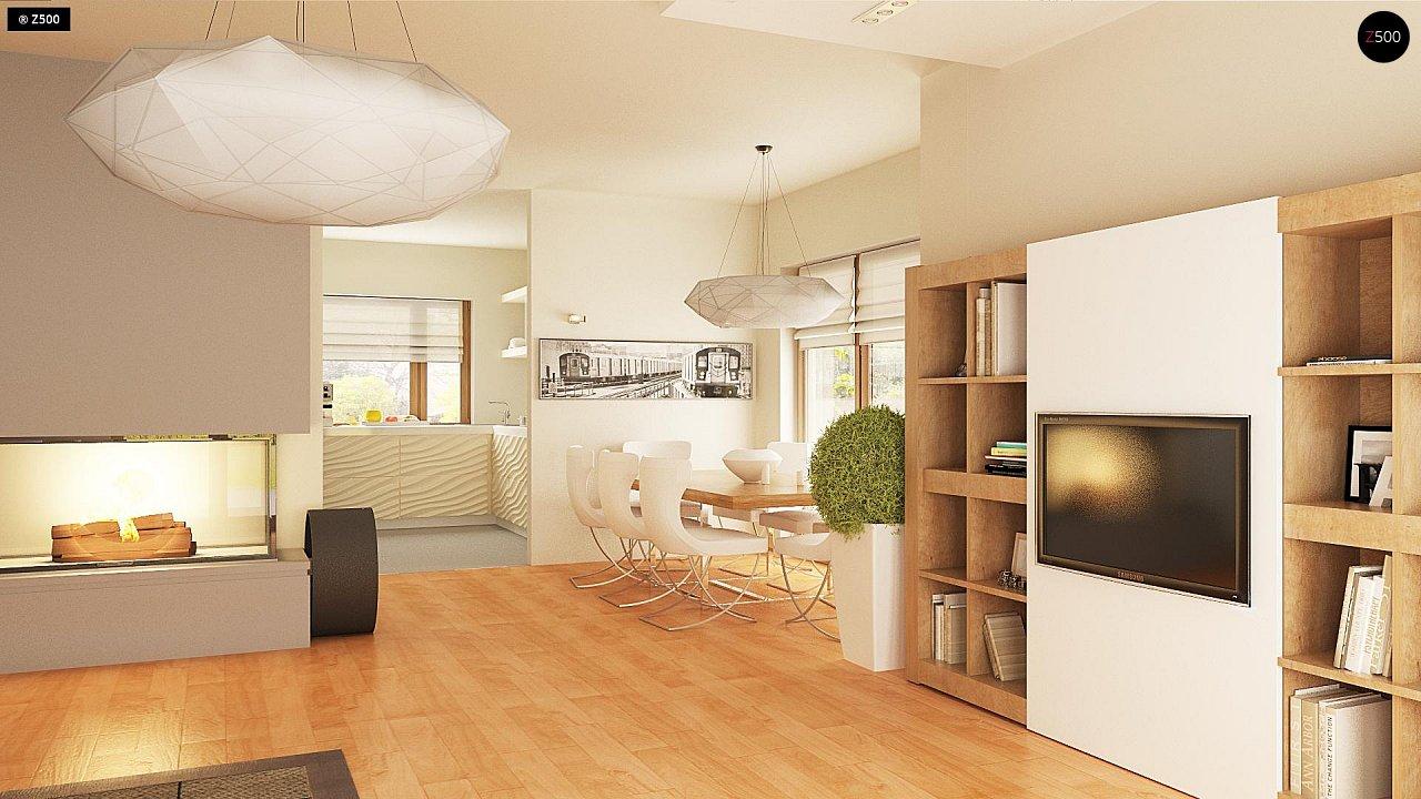 Версия проекта Z270 с альтернативной планировкой мансардного этажа. 10