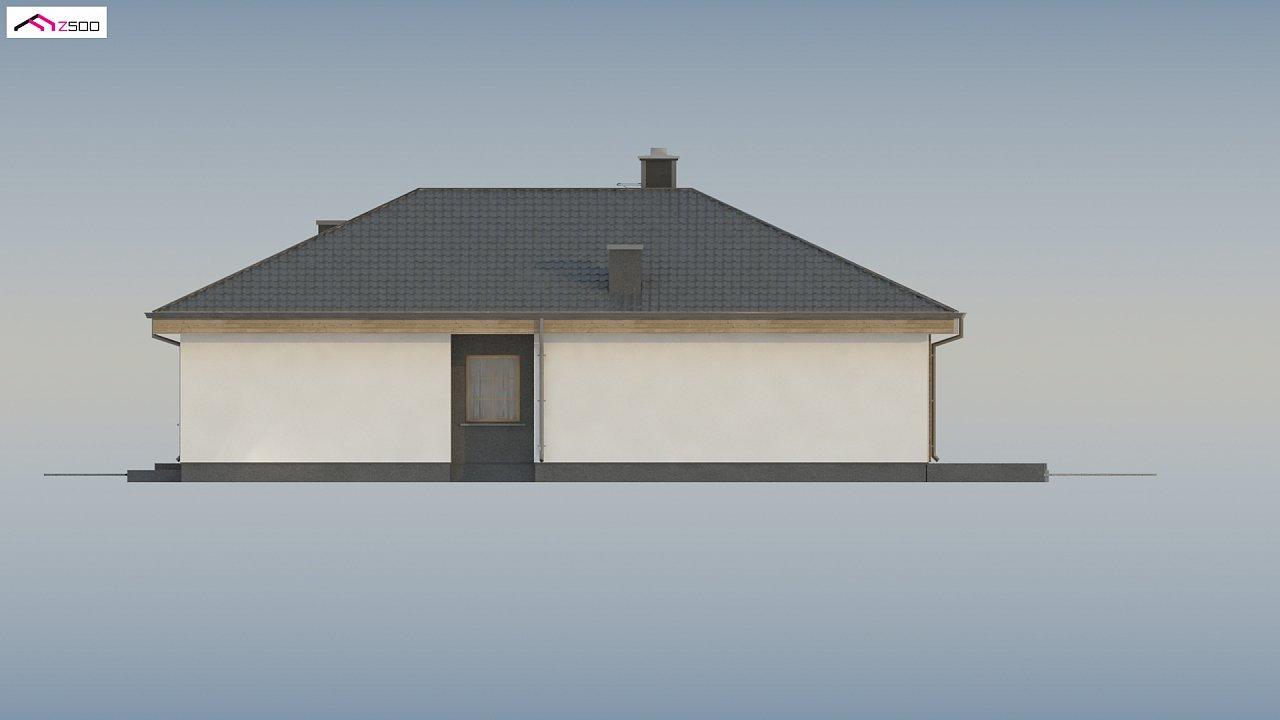 Красивый одноэтажный дом с удобной планировкой 14