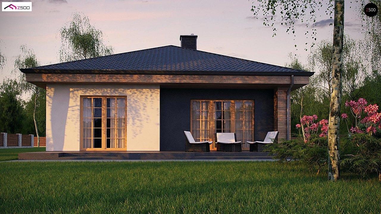 Красивый одноэтажный дом с удобной планировкой 4