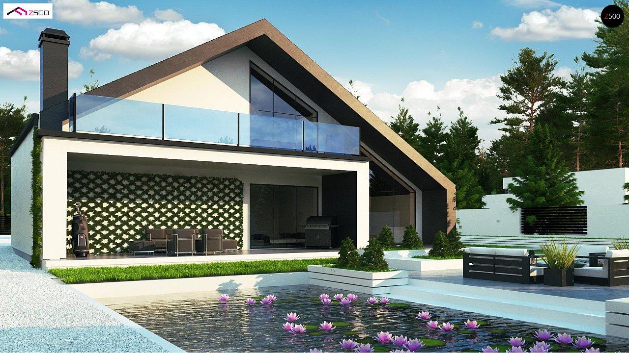 Современный мансардный дом со вторым светом - фото 5