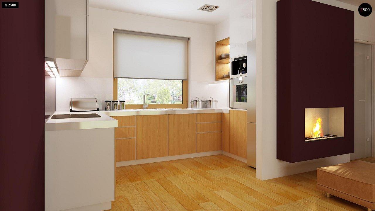 Практичный дом для небольшого участка, простой в строительстве, дешевый в эксплуатации. 7