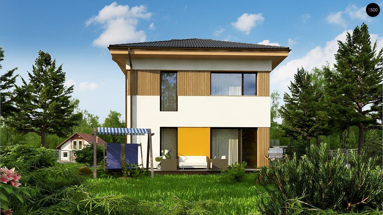 Компактный проект двухэтажного дома 4