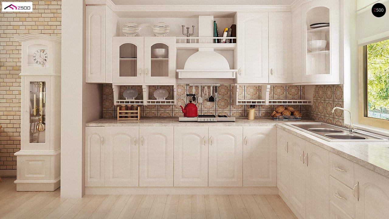 Зеркальный вариант увеличенного дома Z2 - фото 6