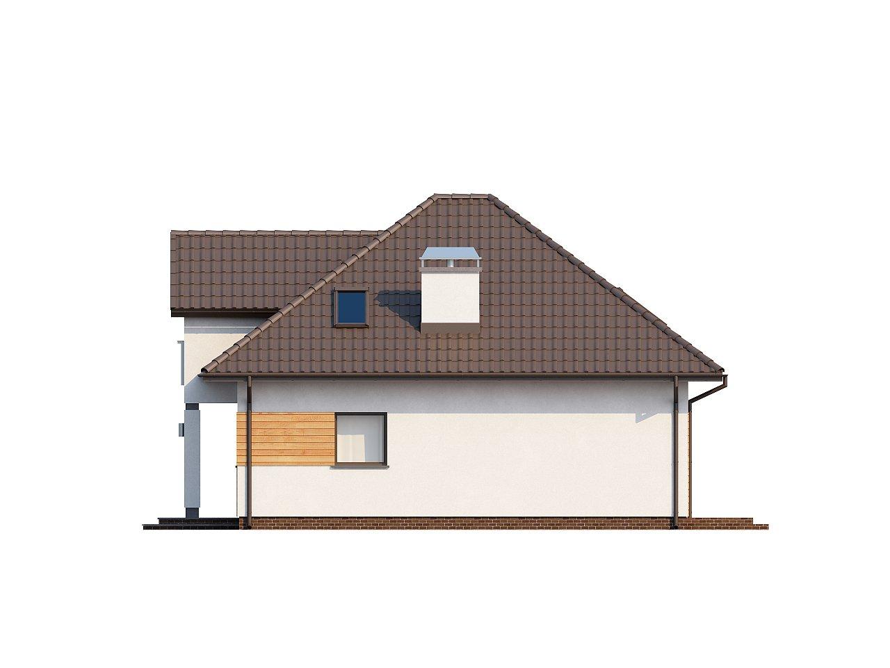 Проект практичного и уютного традиционного дома. 6
