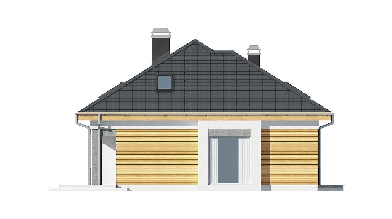 Удобный функциональный дом с двумя дополнительными комнатами на первом этаже. - фото 6