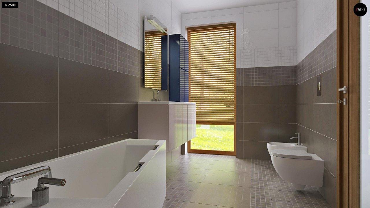 Одноэтажный дом исключительного современного дизайна. - фото 24