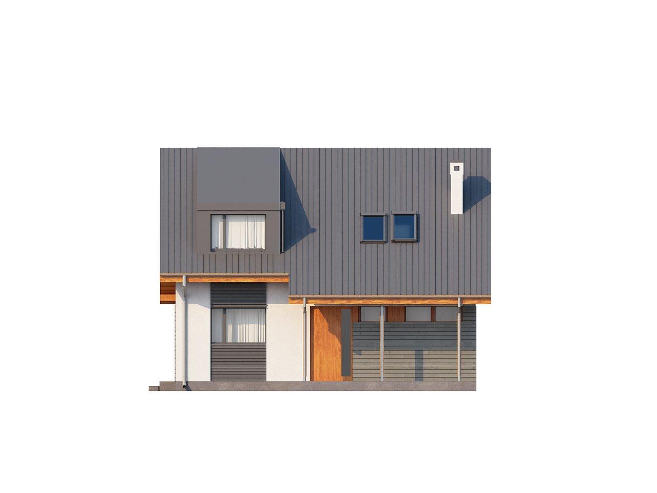 Проект небольшого практичного дома, выгодного в строительстве и эксплуатации. - фото 3