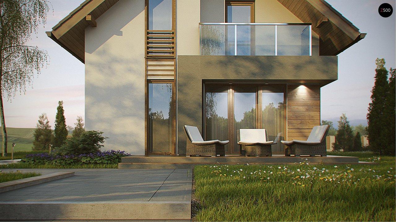Компактный и удобный дом традиционной формы, подходящий, также, для узкого участка. 4