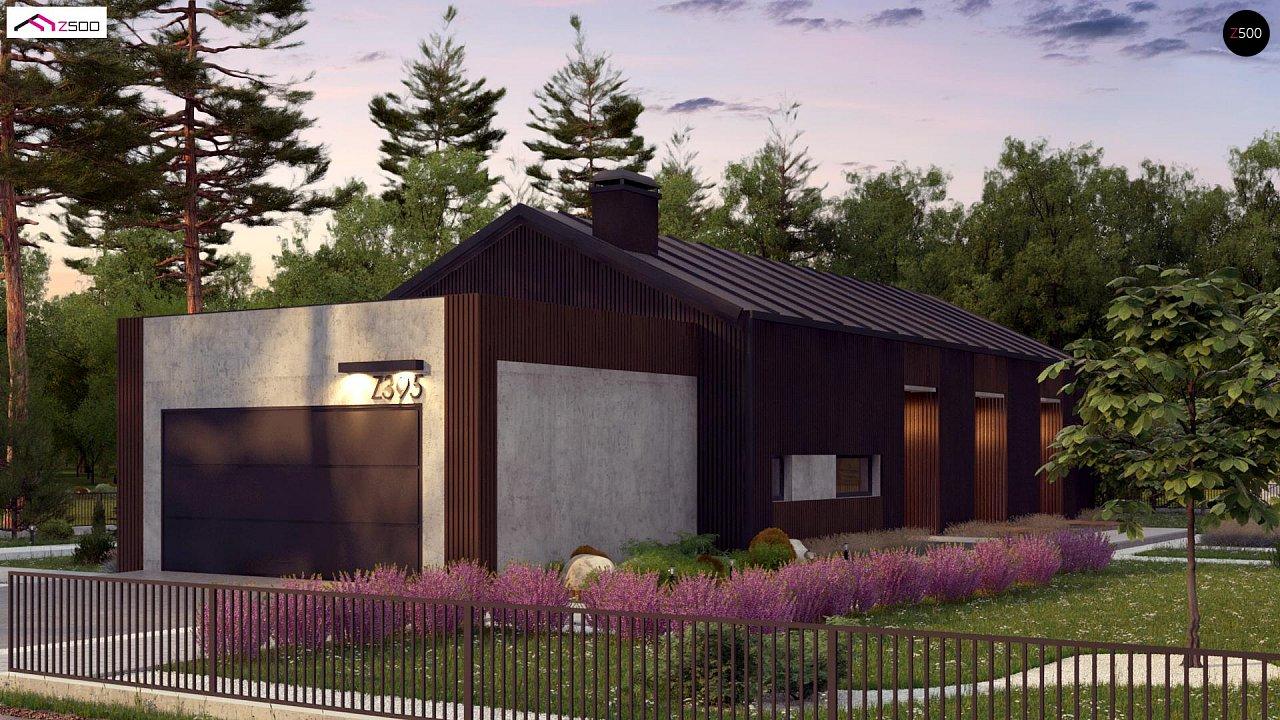 Дом в необычном современном стиле для большой семьи - фото 4