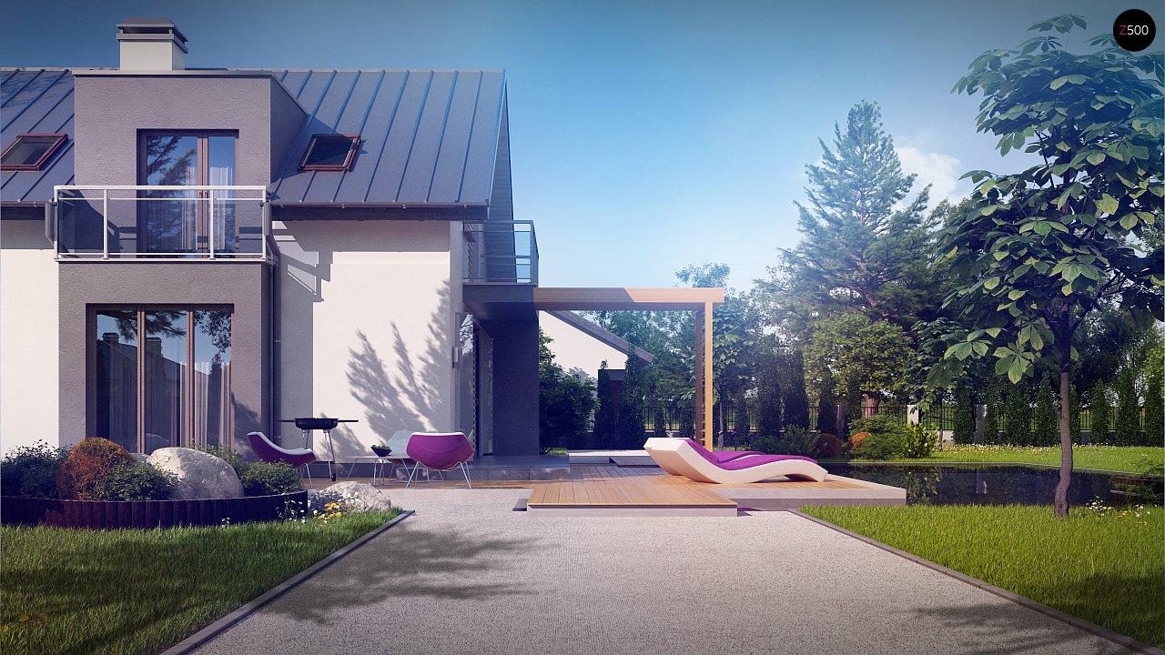 Дом традиционной формы с современными элементами в архитектуре. Уютный и функциональный интерьер. - фото 4