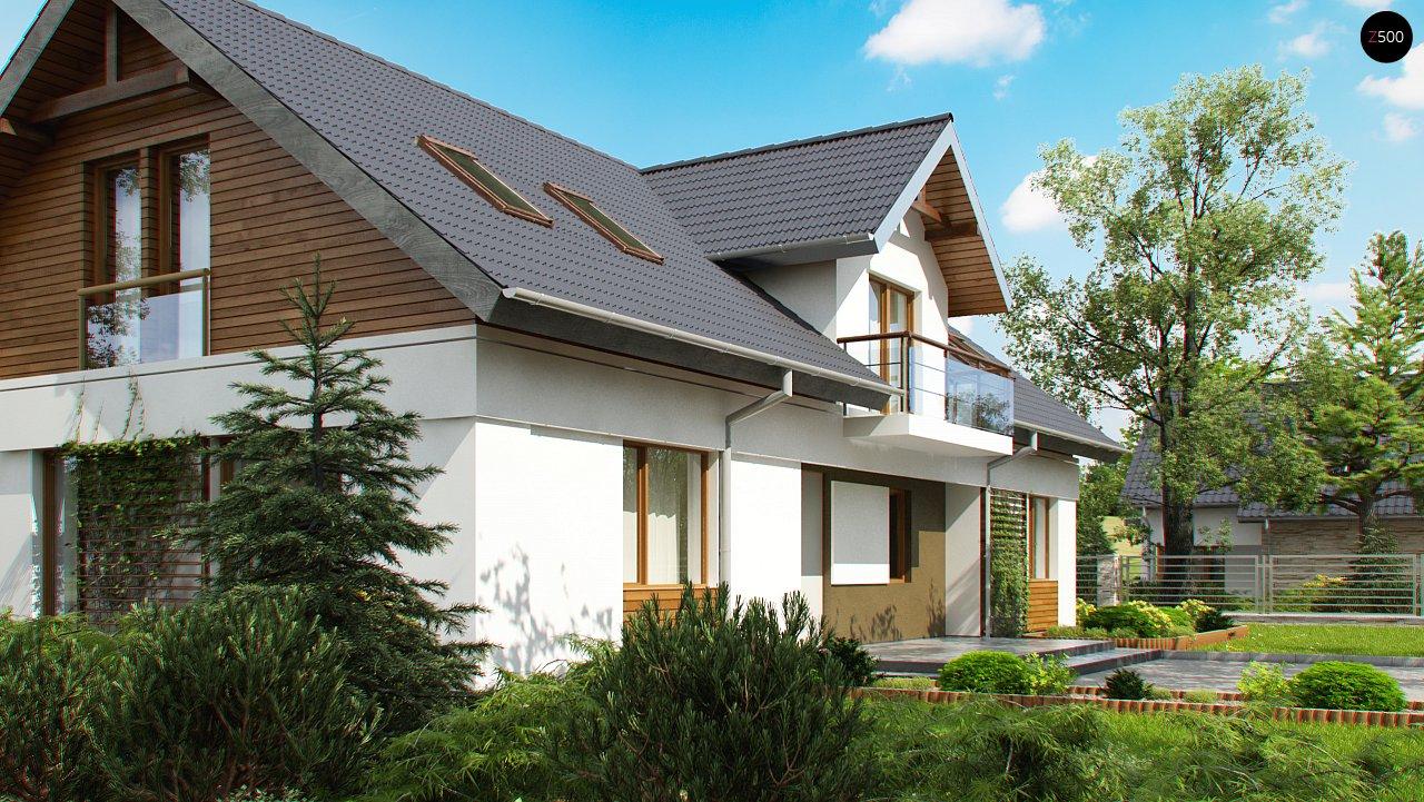 Практичный двухквартирный дом с общими входом и техническим помещением. 2