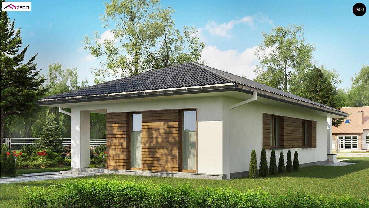 Одноэтажный функциональный дом для небольшой семьи - фото 6