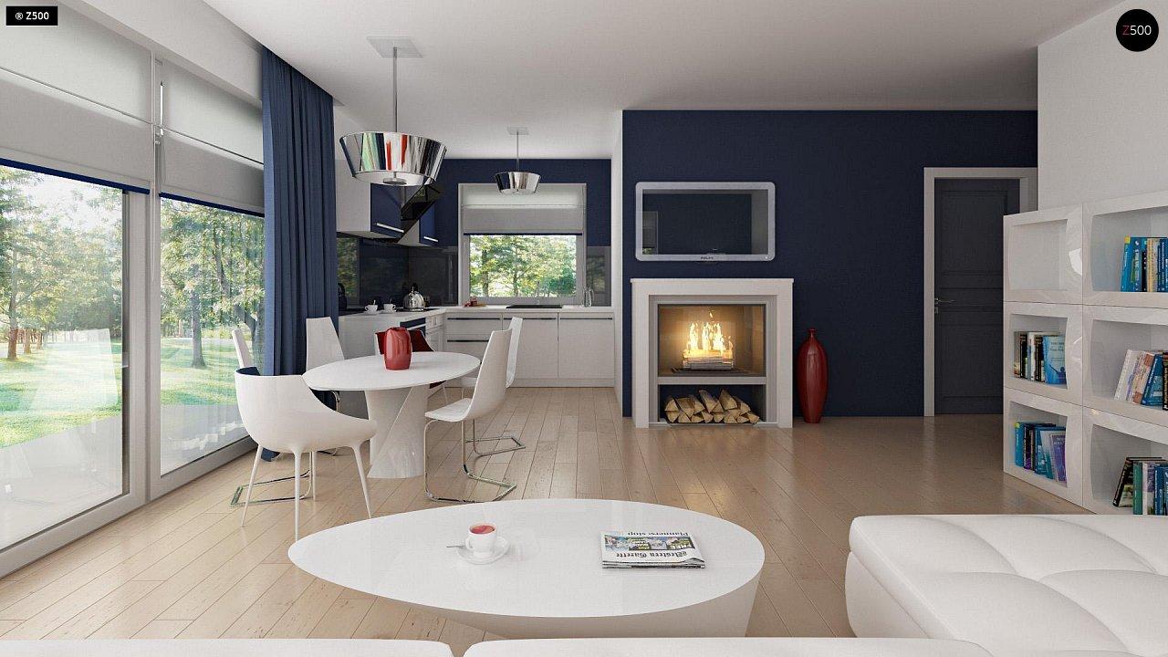 Дом с мансардным этажом, адаптированный для сейсмоопасных регионов. 8