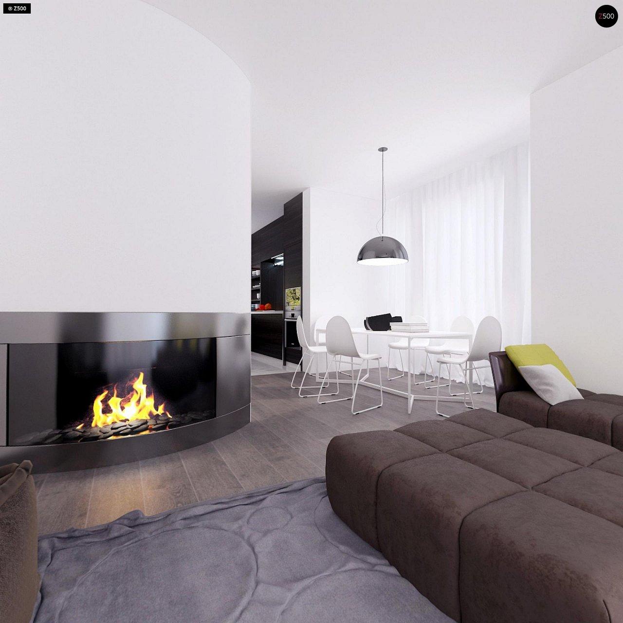 Проект функционального и удобного дома с комнатой над гаражом. 8