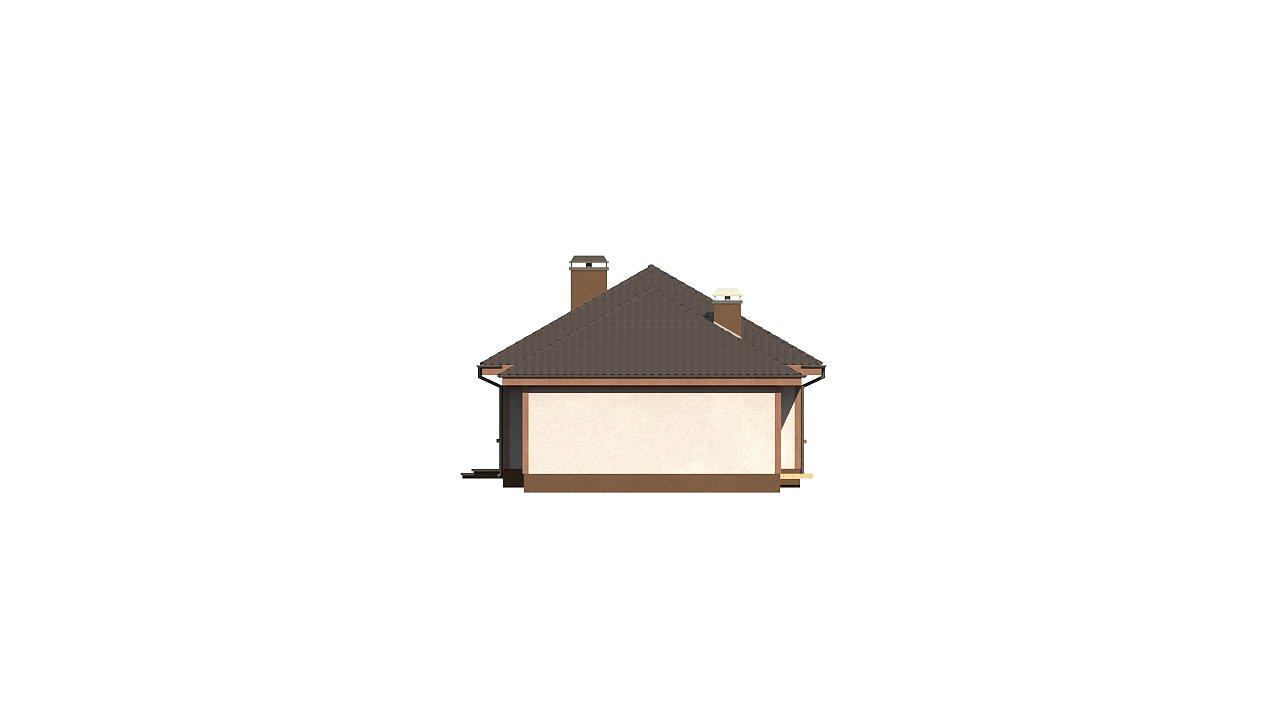 Уютный одноэтажный дом с гаражом на одну машину 7