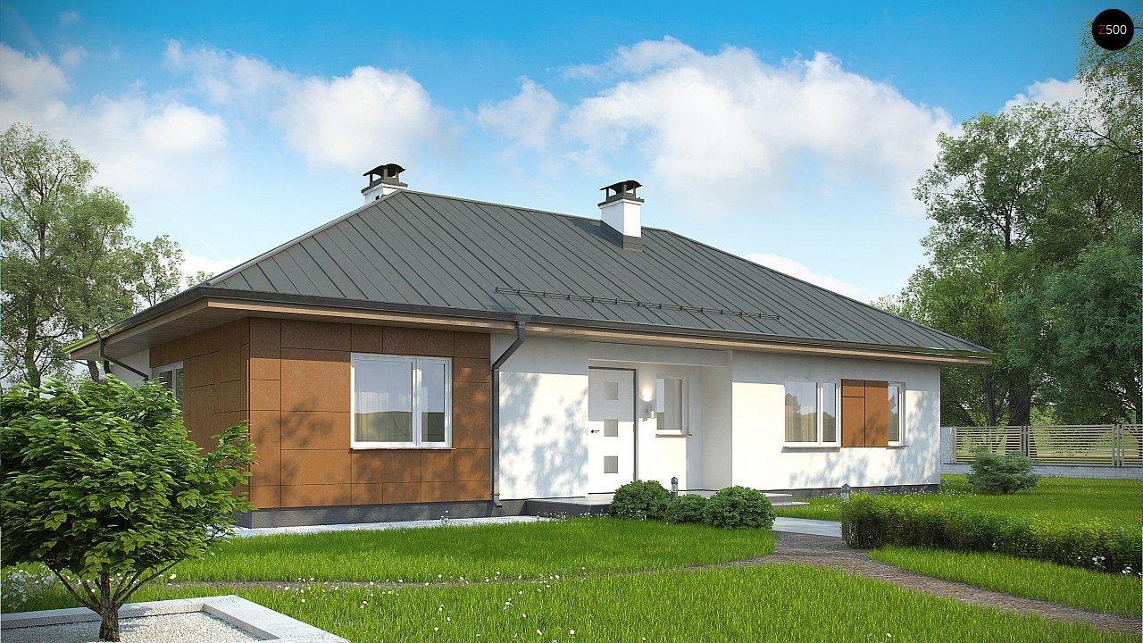 Комфортный одноэтажный дом в традиционном стиле. 2