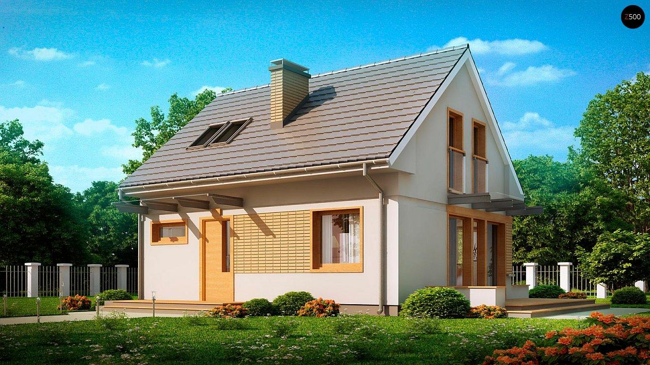 Дом с мансардным этажом, адаптированный для сейсмоопасных регионов. 2