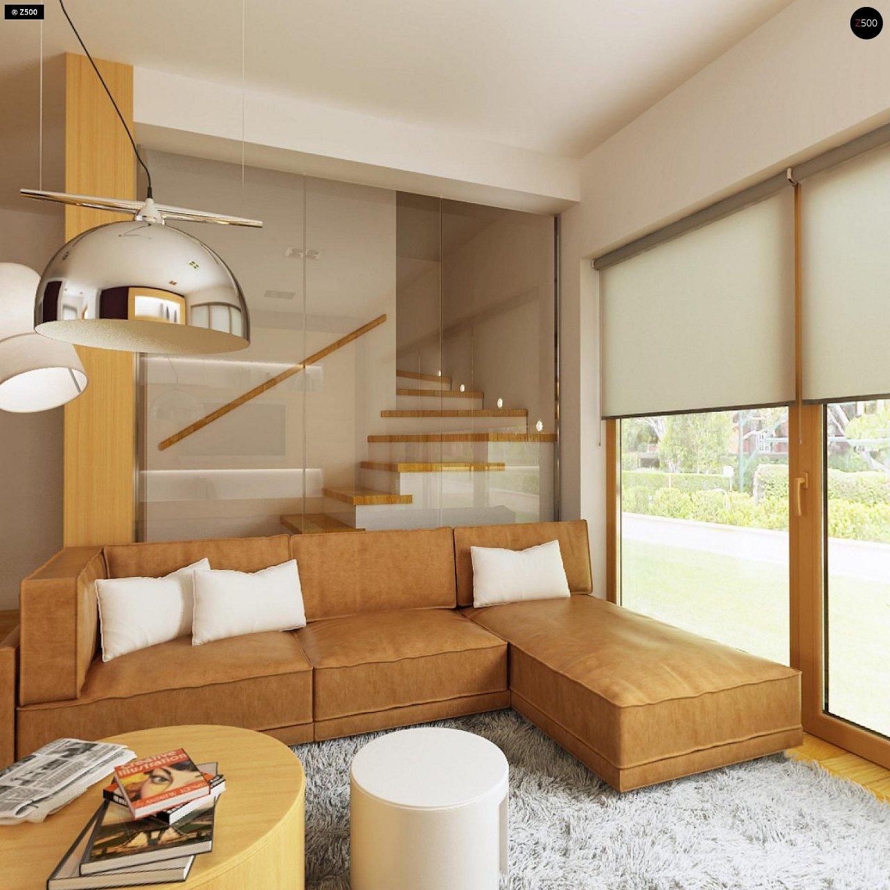 Практичный дом для небольшого участка, простой в строительстве, дешевый в эксплуатации. 8