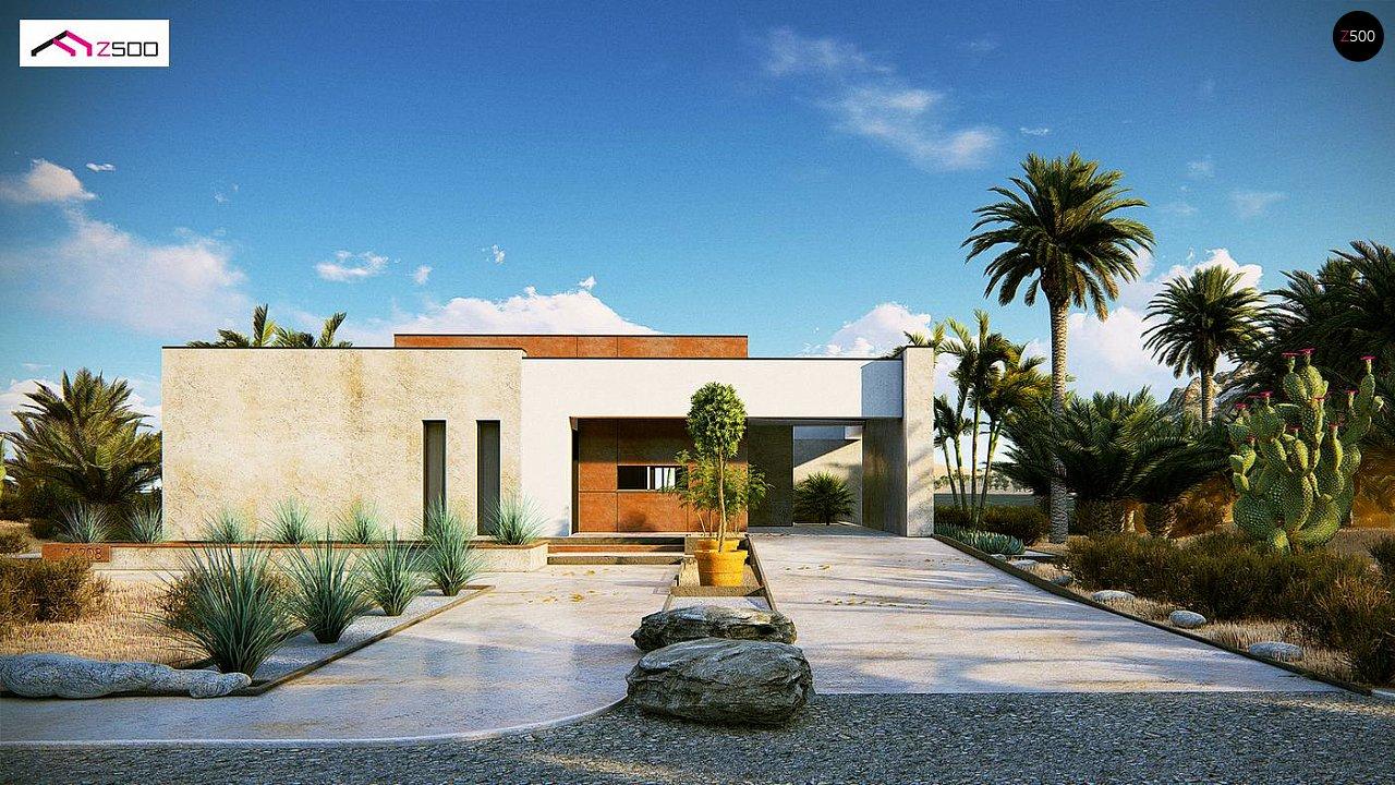Современный одноэтажный дом небольшого размера. - фото 3