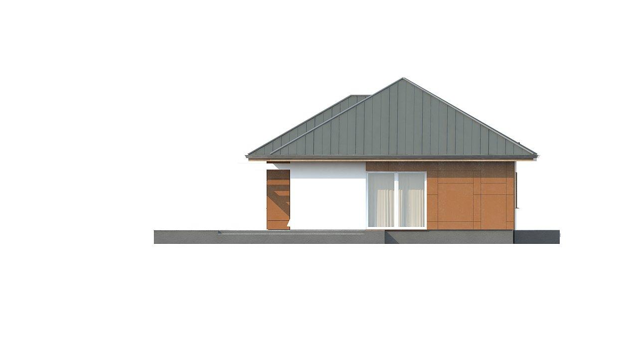 Комфортный одноэтажный дом в традиционном стиле. 10