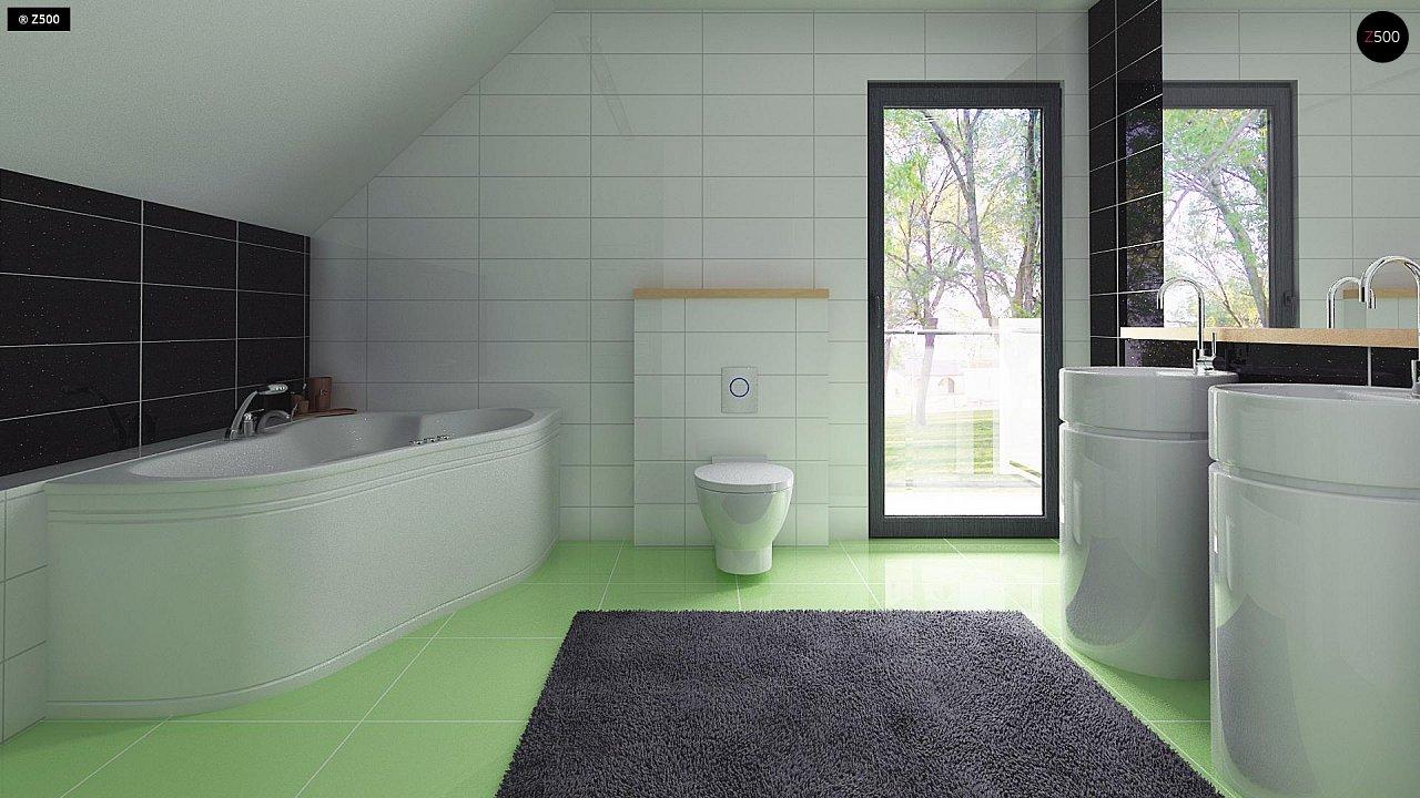 Компактный и удобный дом традиционной формы, подходящий, также, для узкого участка. 13