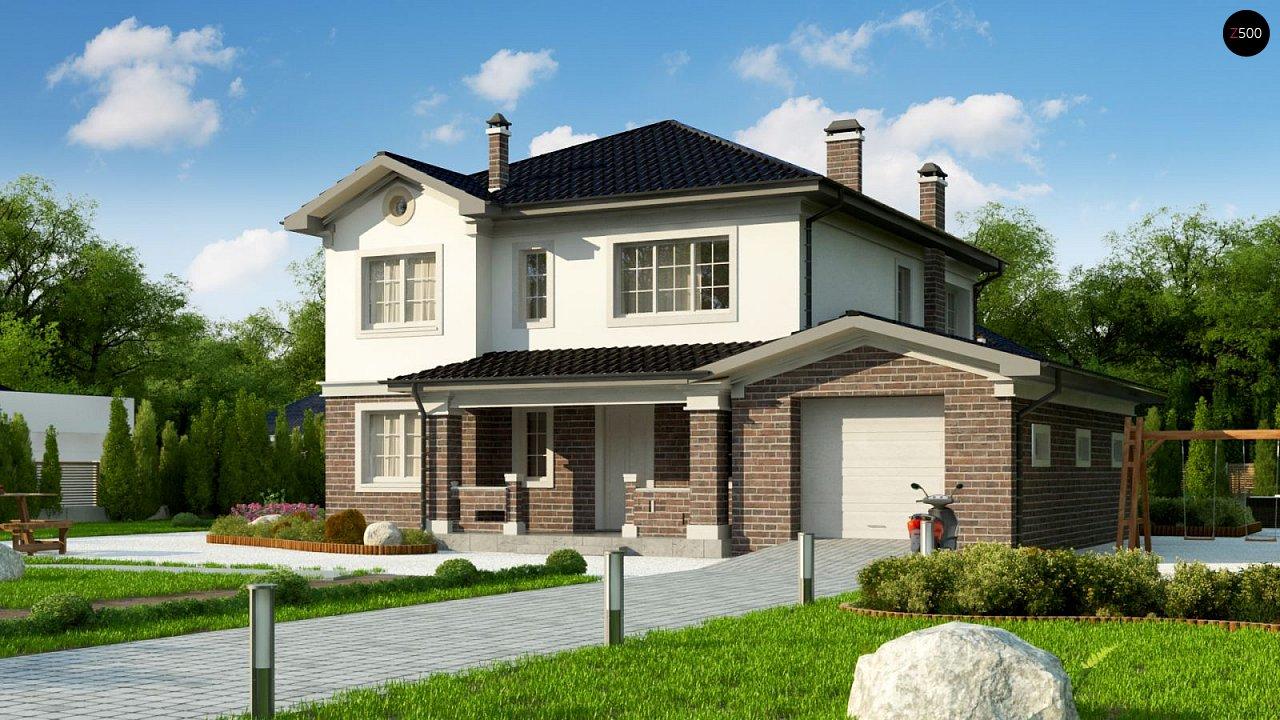 Элегантный двухэтажный дом с гаражом, с 5 спальнями - фото 1