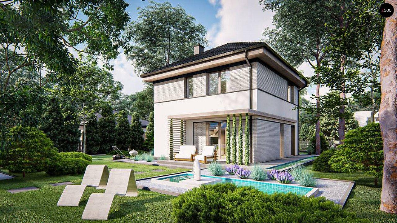Функциональный двухэтажный дом 5