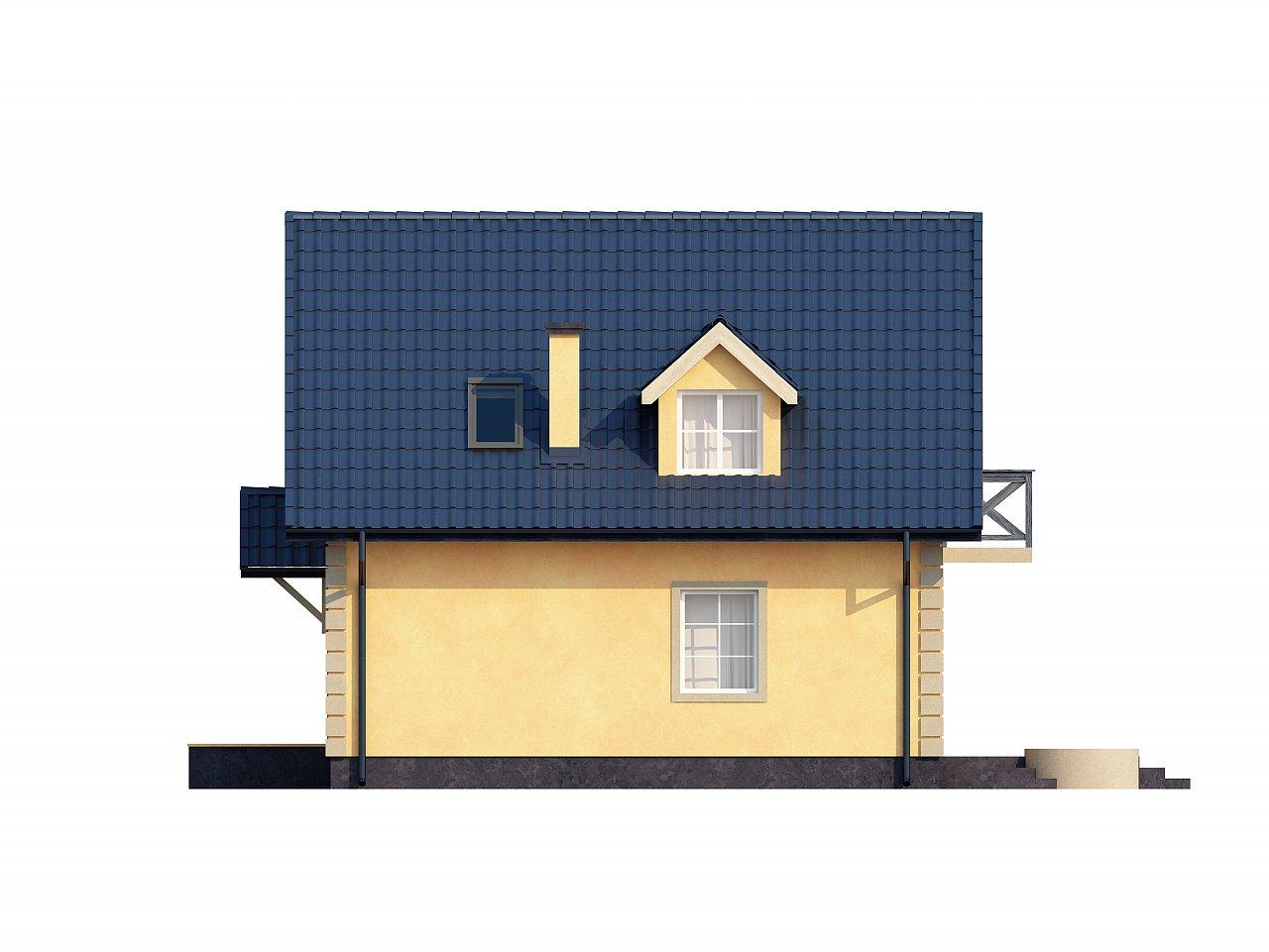 Очаровательный и практичный дом с мансардой в традиционном стиле. - фото 24