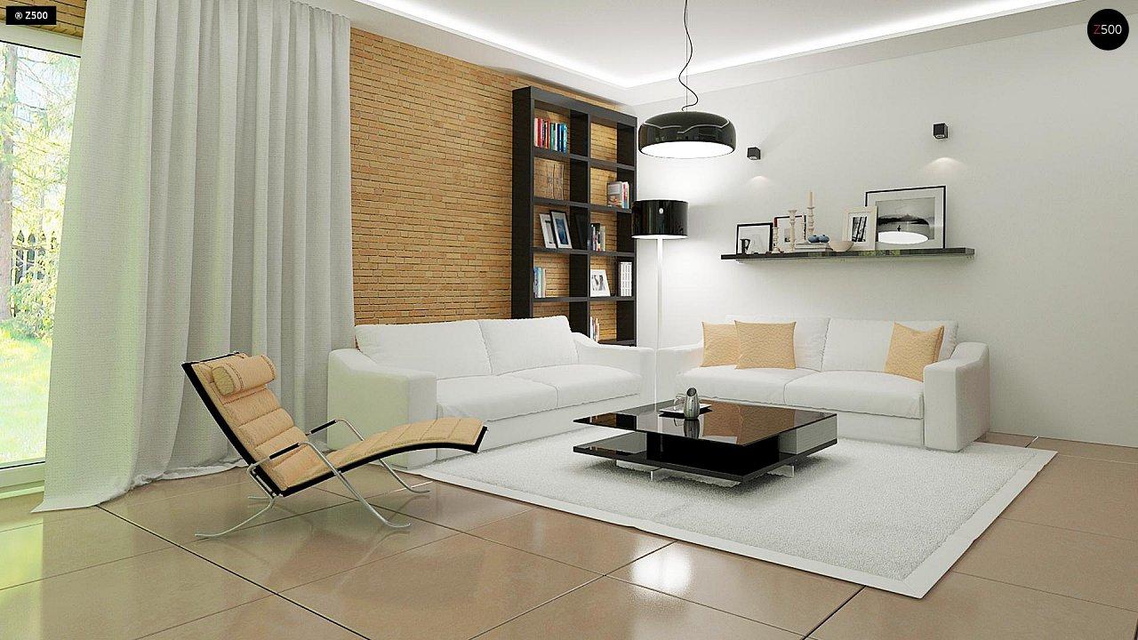 Комфортный дом привлекательного дизайна с дополнительной комнатой над гаражом. 5