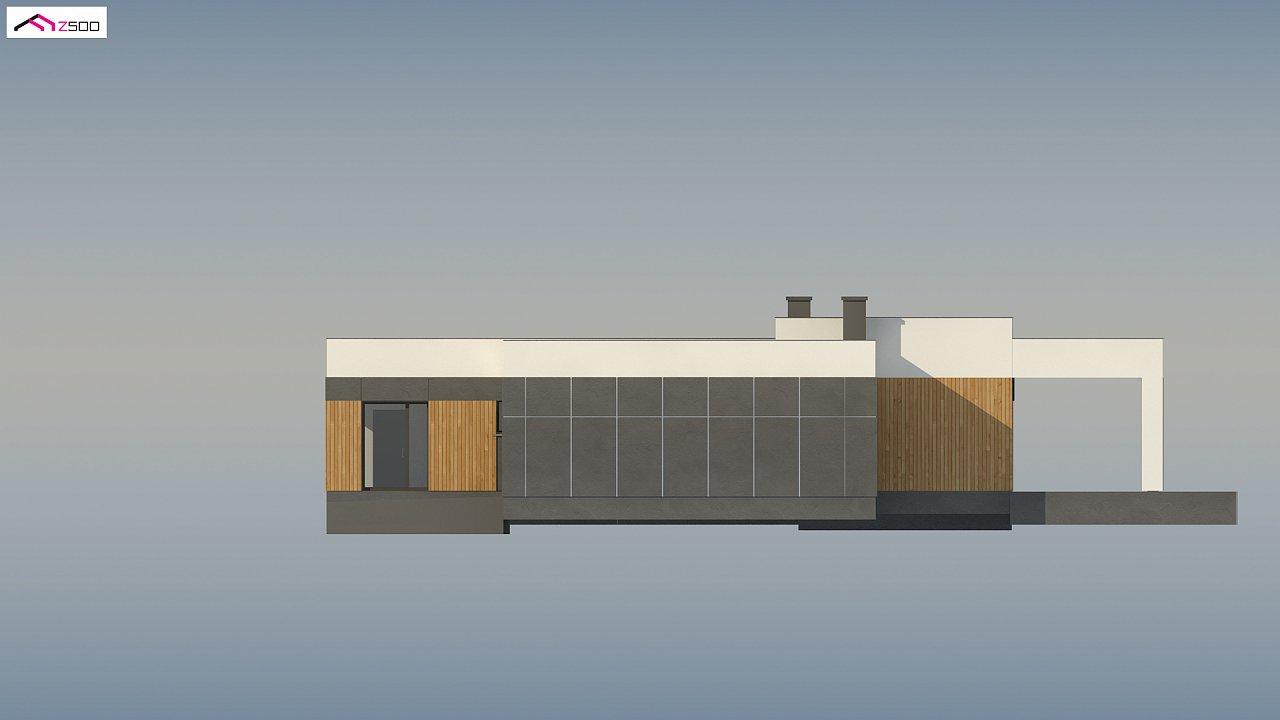 Проект стильного одноэтажного дома в современном стиле 9