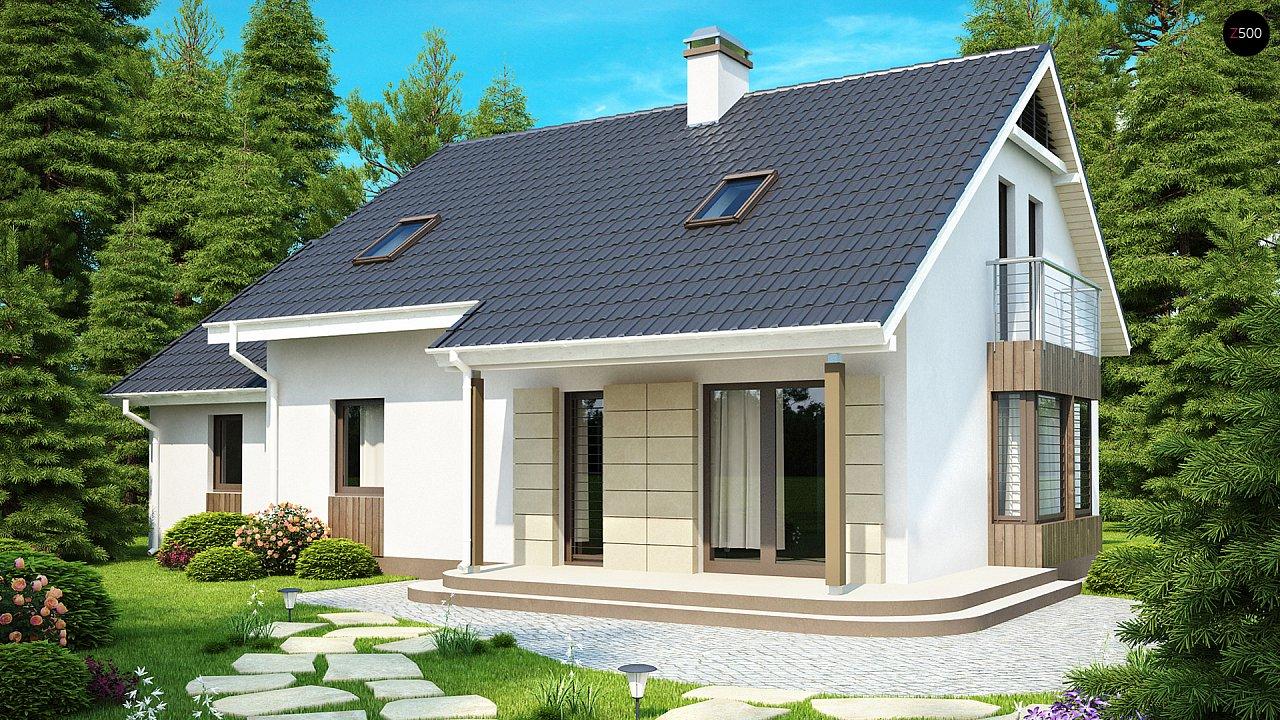 Выгодный в строительстве и эксплуатации дом с дополнительной спальней на первом этаже. - фото 1