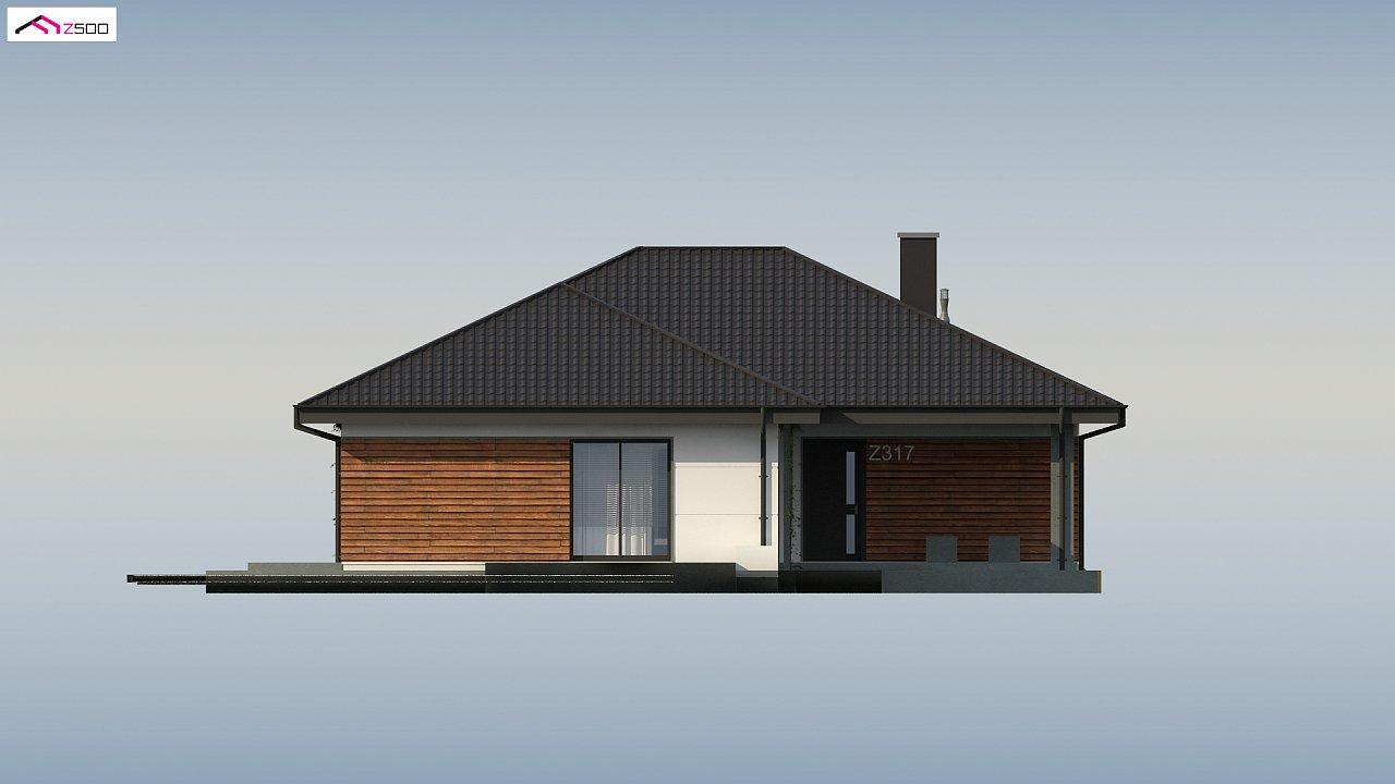 Проект комфортного и функционального одноэтажного дома. - фото 15