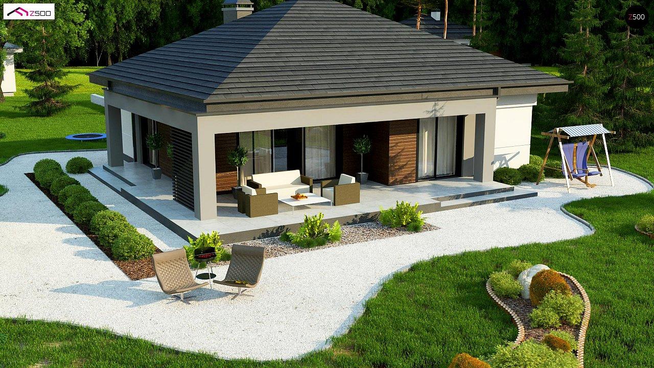 Небольшой домик с удобной планировкой 6