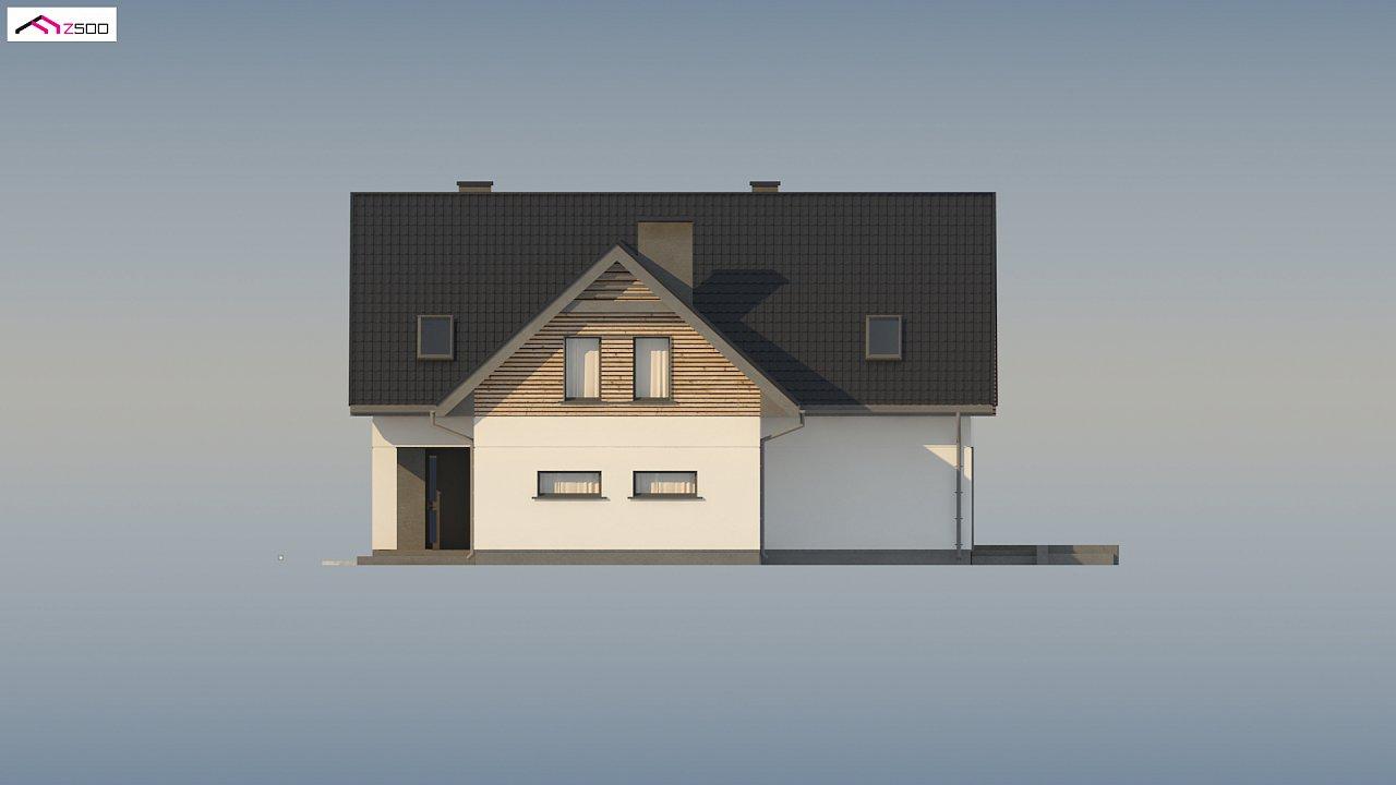 Стильный и аккуратный мансардный дом с гаражом для двух машин. 10