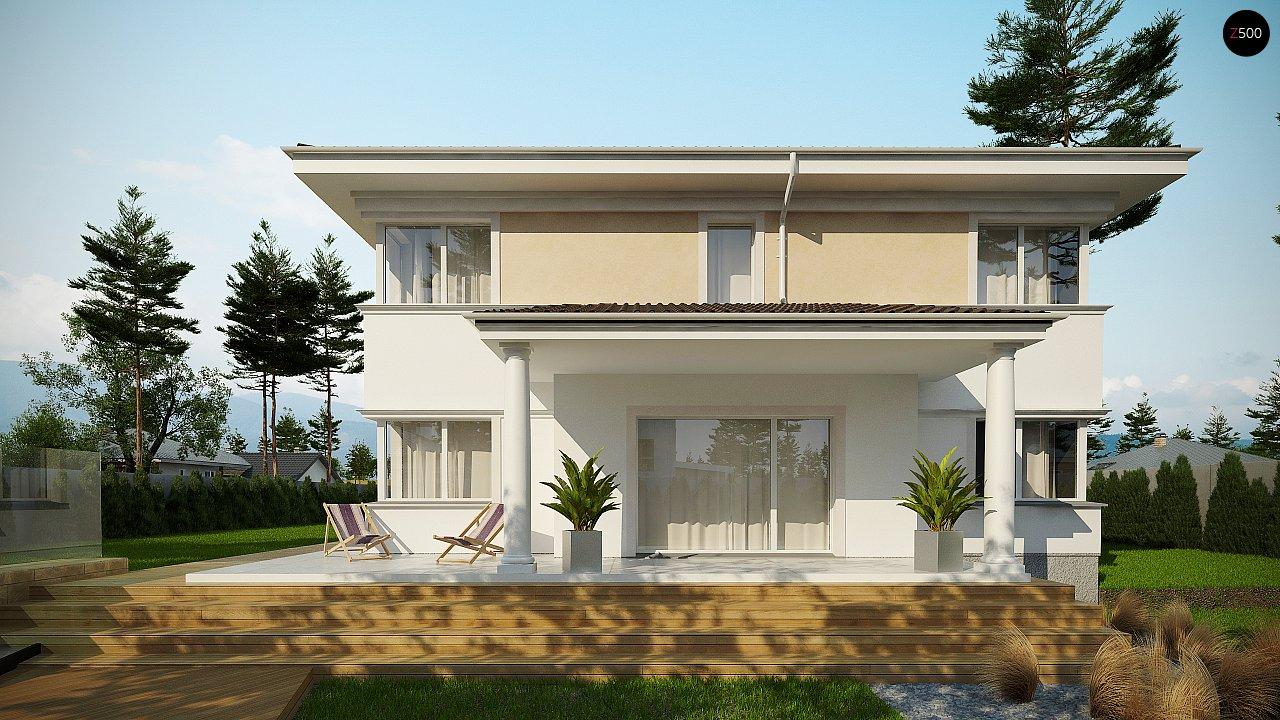 Проект комфортной двухэтажной виллы в традиционном стиле. 4
