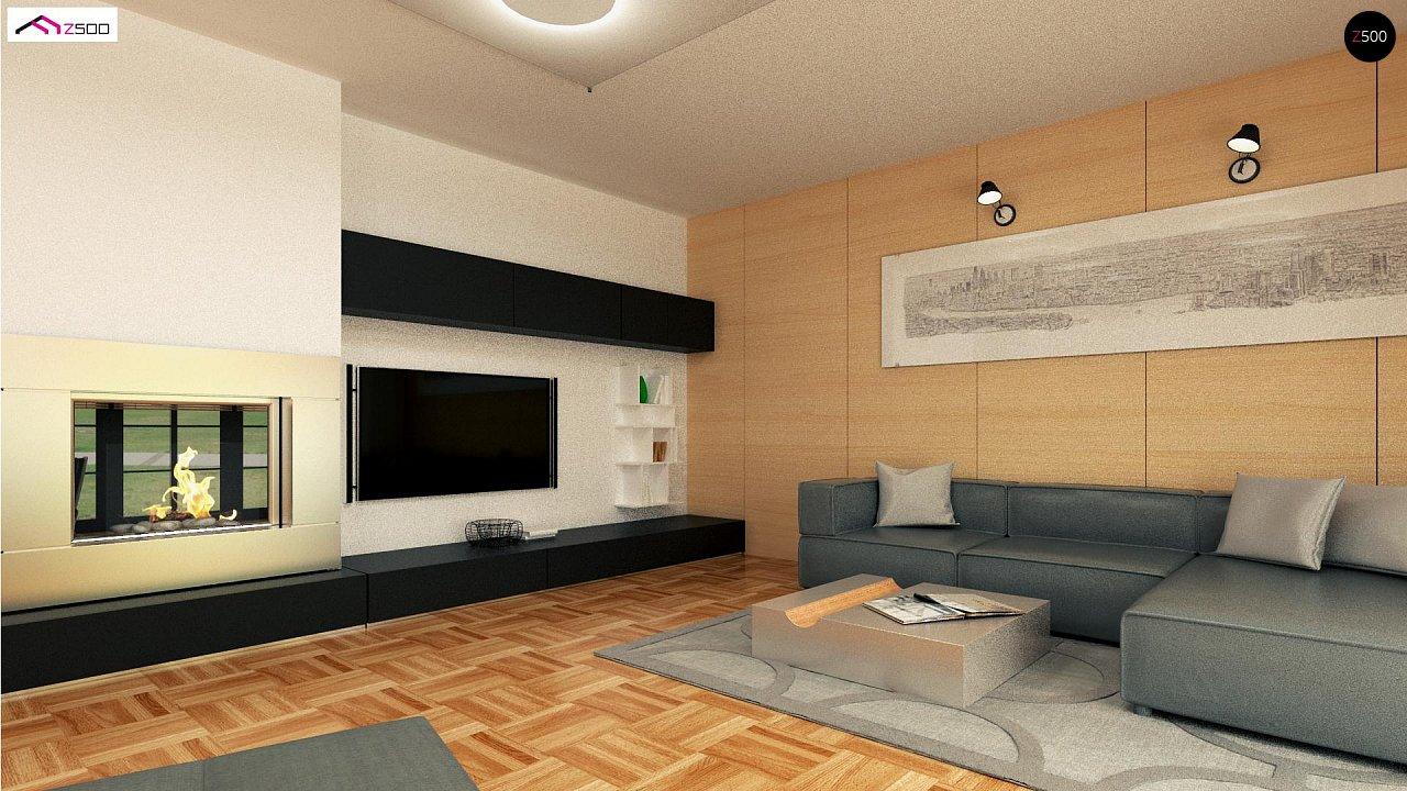 Красивый одноэтажный дом с удобной планировкой 6