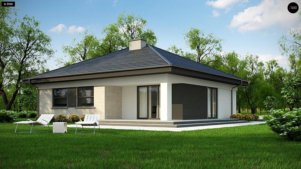 Проект компактного и функционального одноэтажного дома 3
