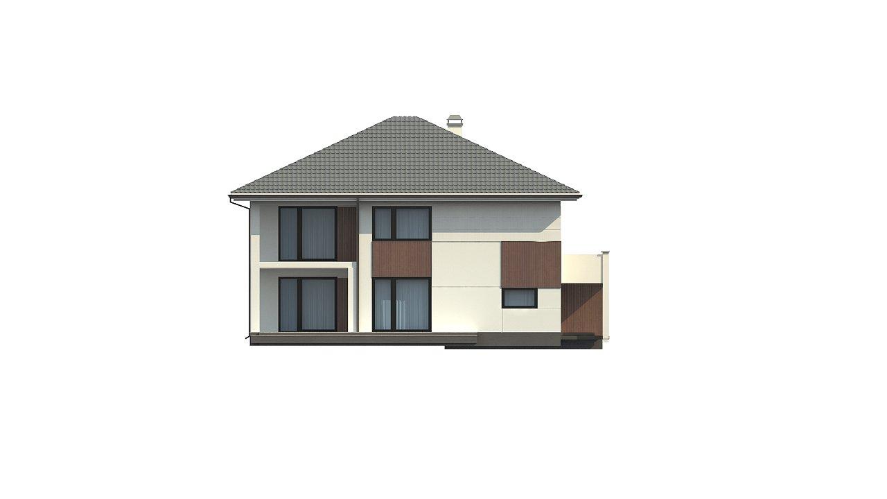 Элегантный комфортабельный двухэтажный дом с современными элементами архитектуры. - фото 7