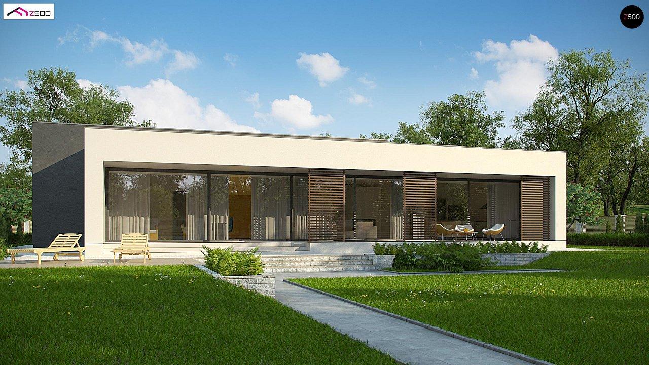 Современный дом с 4 спальнями, гаражом на 2 машины и большими окнами 7
